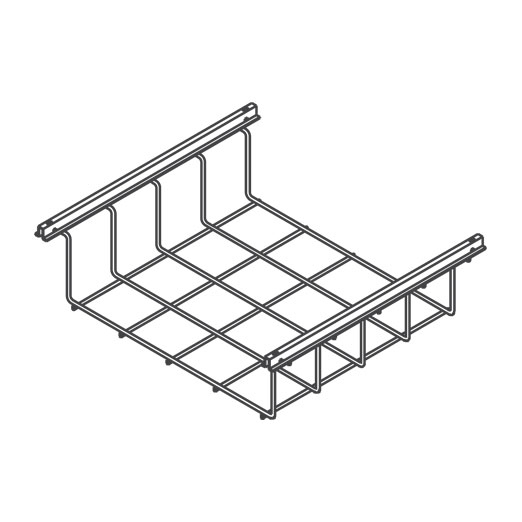 Snake Canyon Original 301 Series - Cable Tray & Accessories (CM 301-2-X, CM 301-4-X, CM 301-6-X, CM 301-8-X, CM 301-12-X)