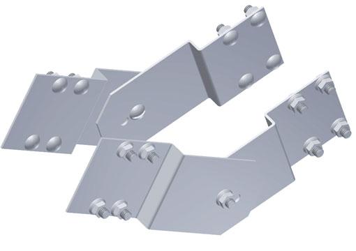 Vertical Adjustable Splice Plates