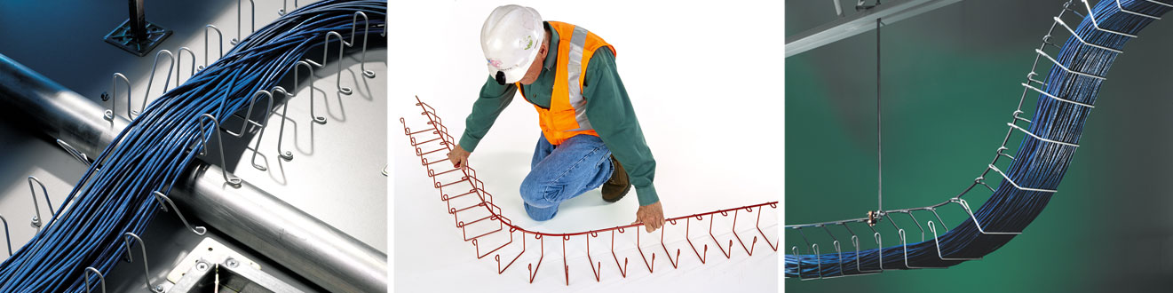 hand bendable cable tray