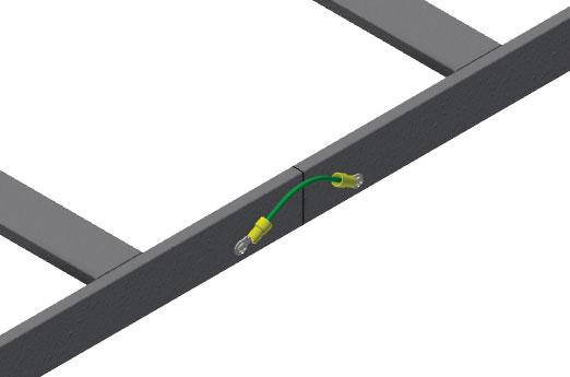 Snake Tray 610 Series - Steel Cable Runway Accessories: Junction Splice Kit (CM 610-JSK), Butt Splice Kit (CM 610-BSK)