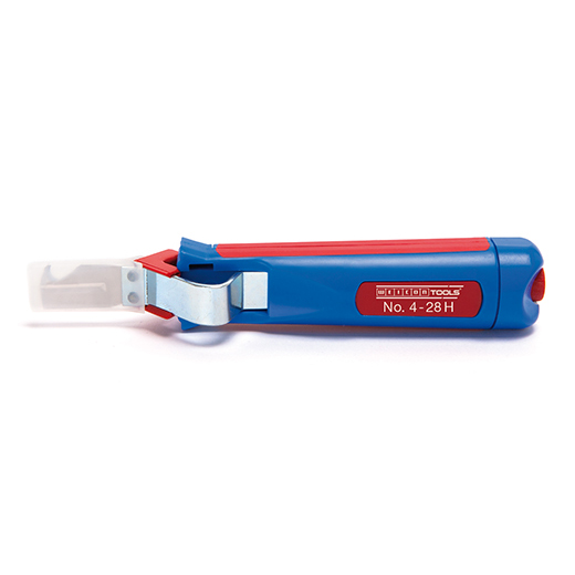 Weicon Tools Cable Stripper No 4-28 H - with Hook Blade (50054328)