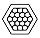 hexagonal crimping