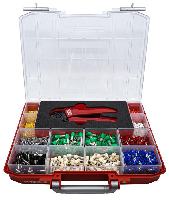 Elpress Assortment Tool Box RPL1800-PEB0116S