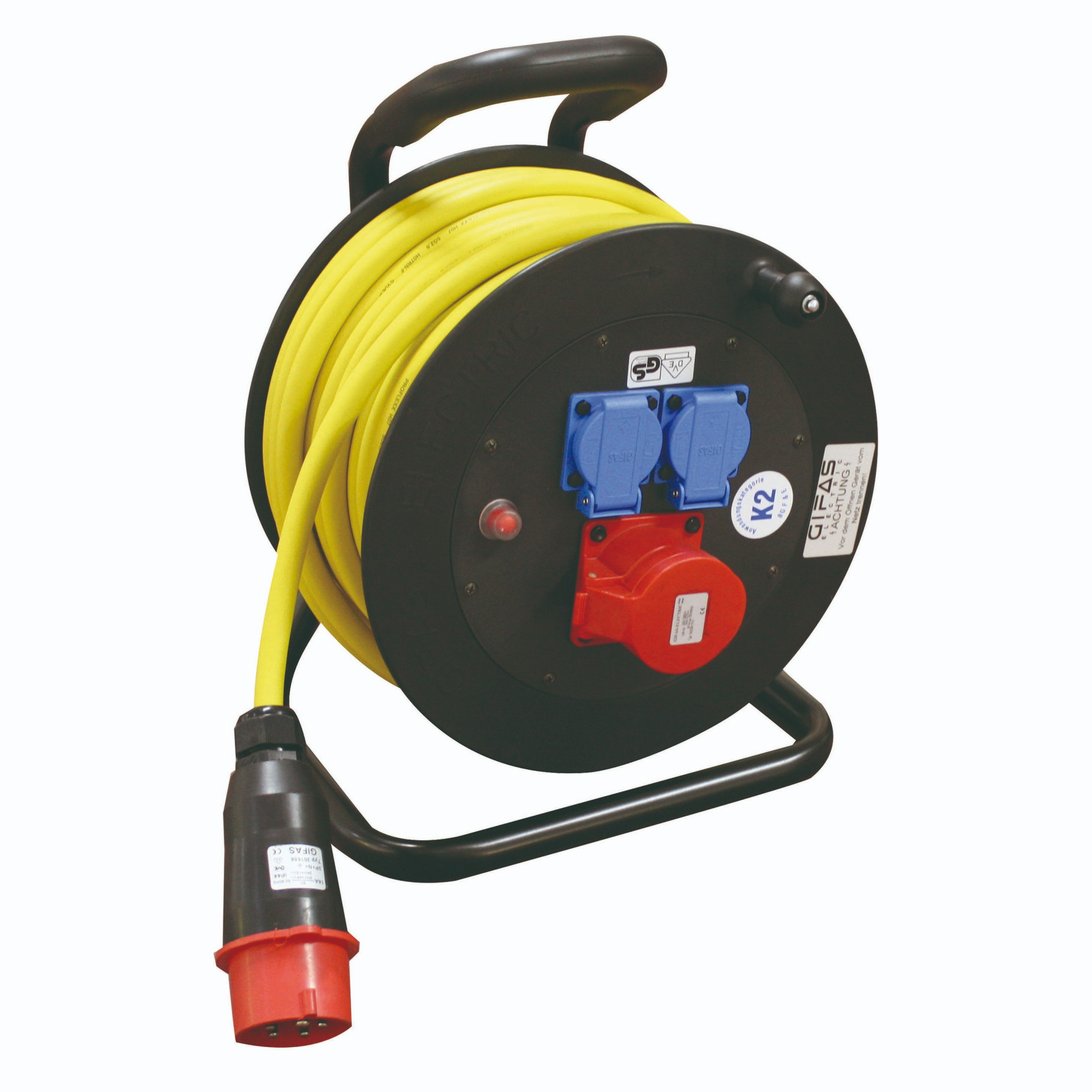 GIFAS Solid Rubber Cable Reel - Type 502 (283578, 259594)
