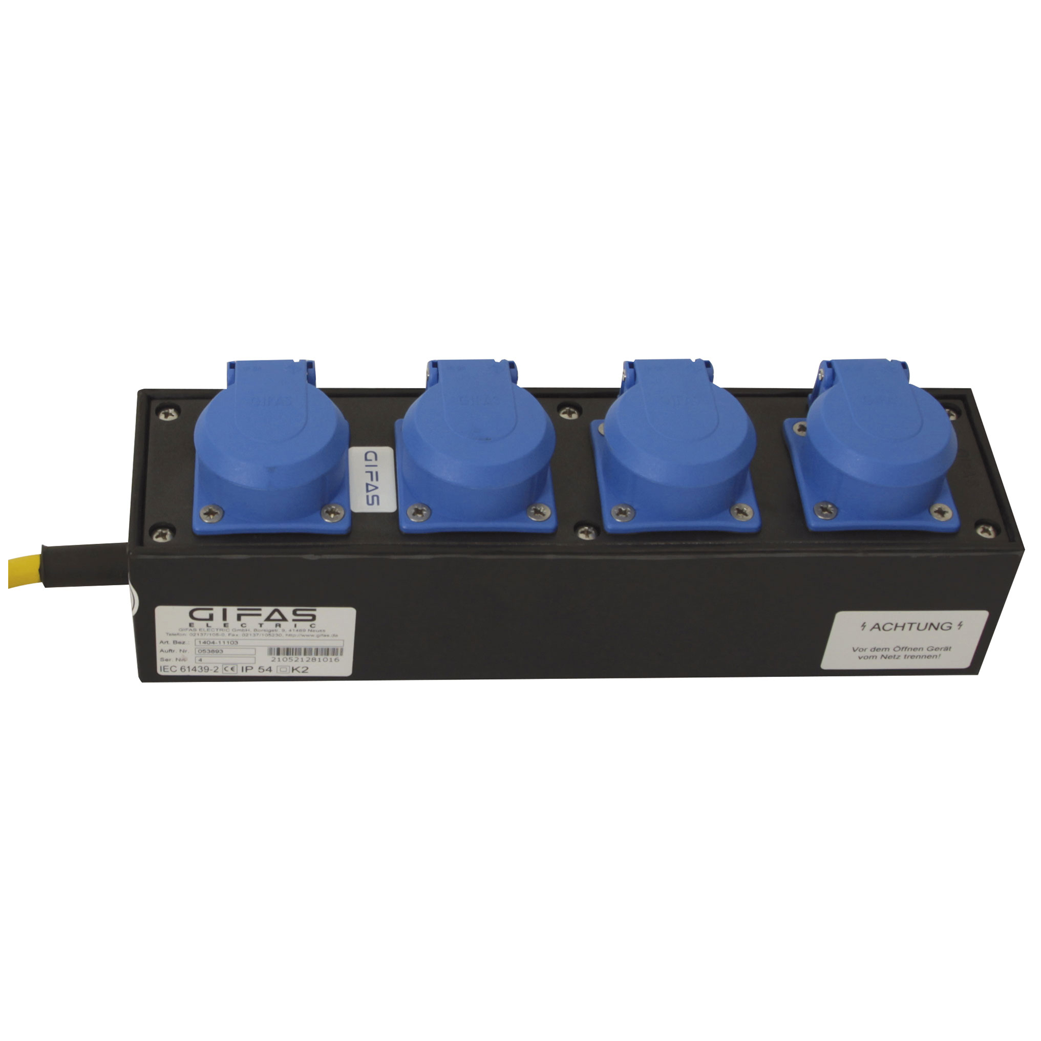 GIFAS Solid Rubber Small Mobile Distributor Type 1400 - 301480, 210521