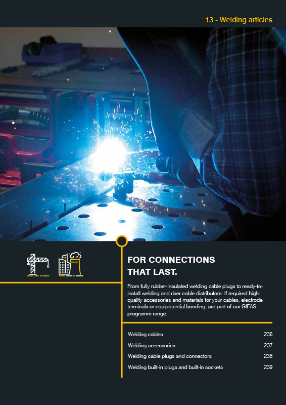GIFAS Welding Articles