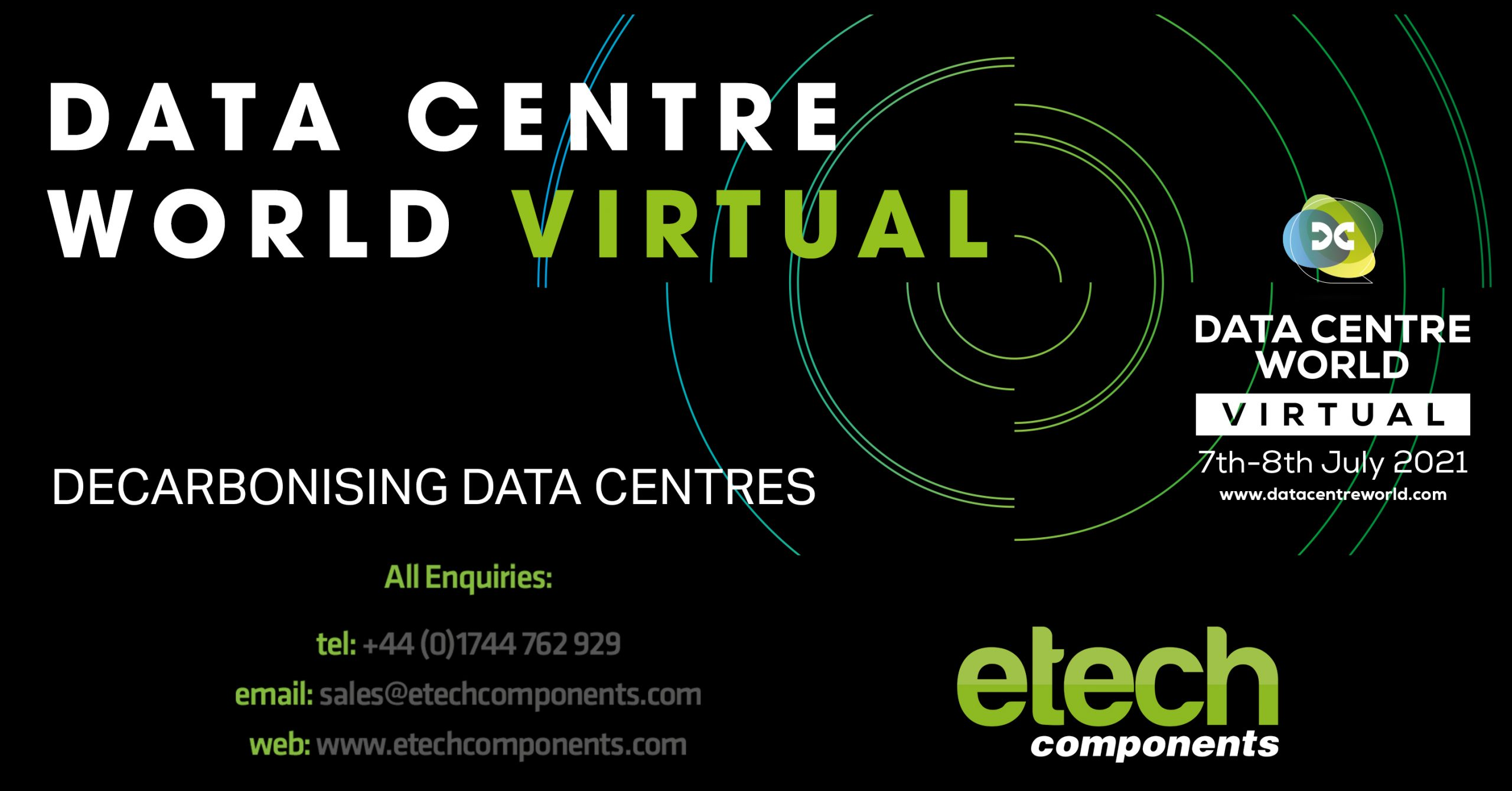 E-Tech are participating in the World's largest Data Centre Event