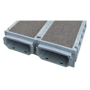 TTS Green Trough Anti-Slip Walkway System TS300W