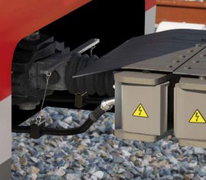 corrugated conduits for trains - couplers